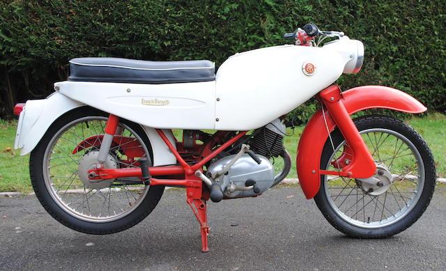 1962 Francis-Barnett 149cc Fulmar 88 Engine no. V15T 9227