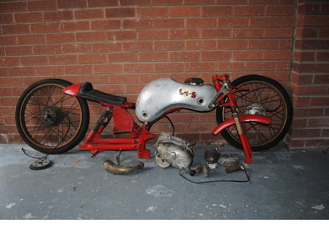 c.1961 Itom 50cc Racing Motorcycle Project Engine no. 141943/SS