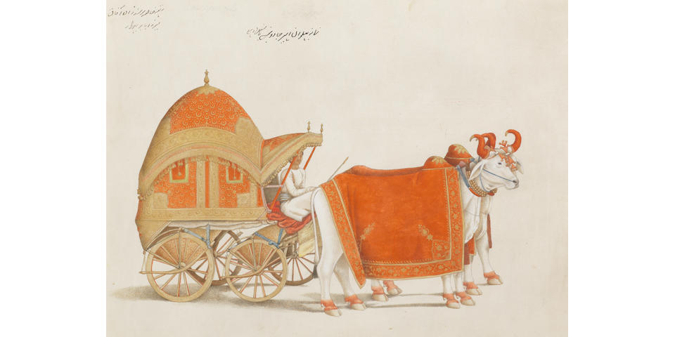 Pictures from a treasure trove of Indian pictures commissioned by Scottish brothers in the 18th century for sale at Bonhams in London