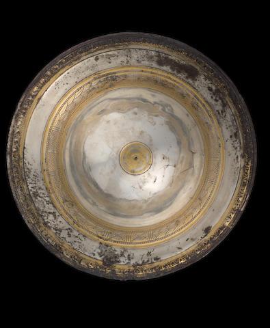 A Hellenistic parcel silver gilt bowl