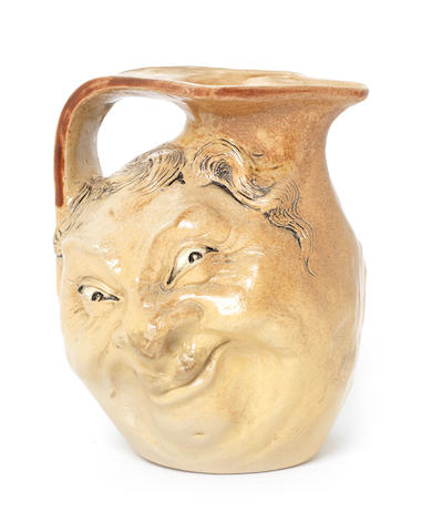 Martin Brothers A Double-Sided Face Jug, 1903