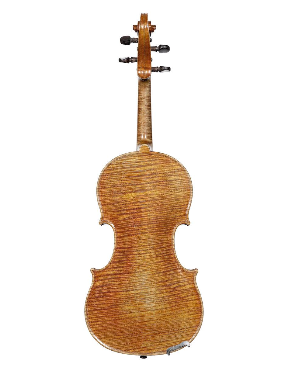 A Violin by Victor Audinot, Paris, circa 1910 (2)