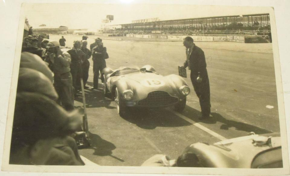 Racing with the David Brown Aston Martins,