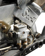 Ex-Phil Vare, Isle of Man Senior TT, Works, 1929 Scott 596cc Racing Motorcycle Frame no. 7M Engine no. RZ 2513