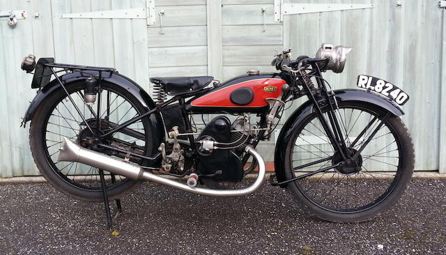 1928 Dunelt 249cc Model K Royal Frame no. 7987 Engine no. K7703