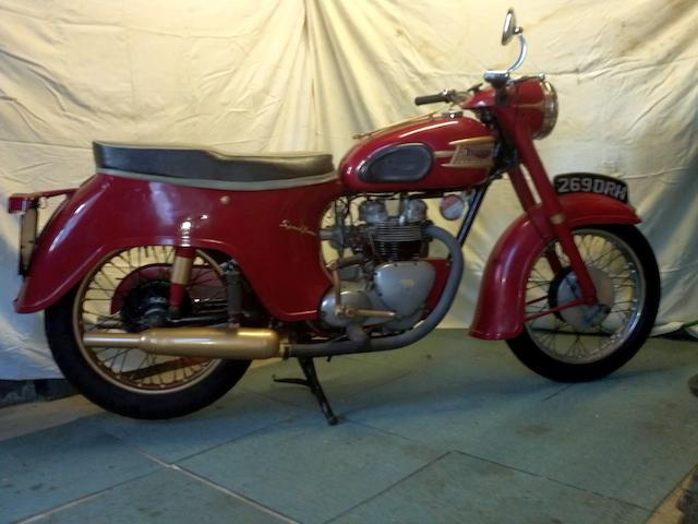 1961 Triumph 490cc 5TA Speed Twin Frame no. H22188 Engine no. 5TA H22188