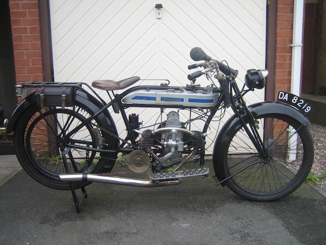 1924 Douglas 2¾hp Model SW Frame no. 70905 Engine no. 70099