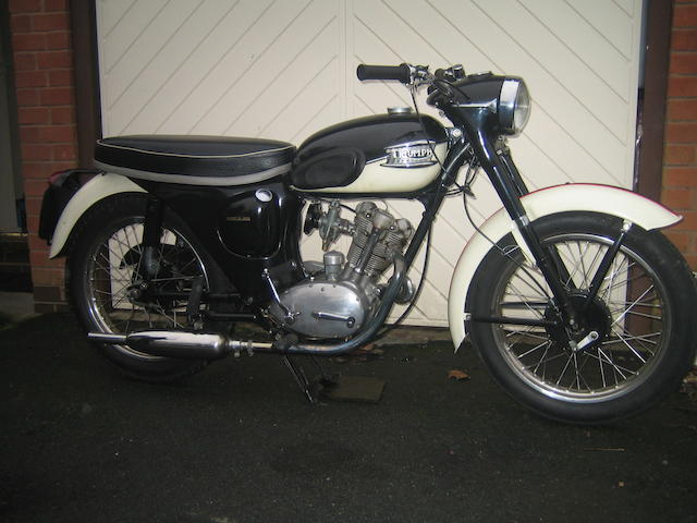 1961 Triumph 200cc Tiger Cub Frame no. T79276 Engine no. T20 79276