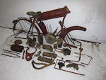 1915 Indian 7hp 'Big Twin' Project Engine no. 81G842