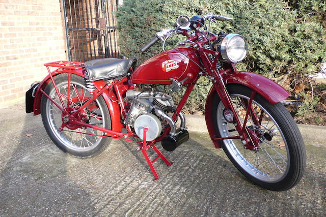 1947 James 125cc ML Frame no. L644 Engine no. B3833