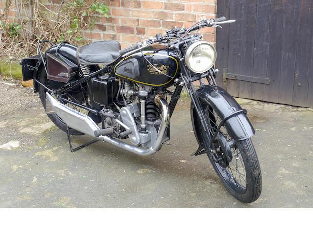 1935 Velocette 348cc KTS Frame no. 5564 Engine no. 5940
