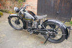 1935 Velocette 348cc KTS Frame no. 5564 Engine no. 5940