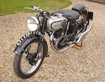 c.1936 Norton 490cc Model 18 Frame no. 58498 Engine no. 62253