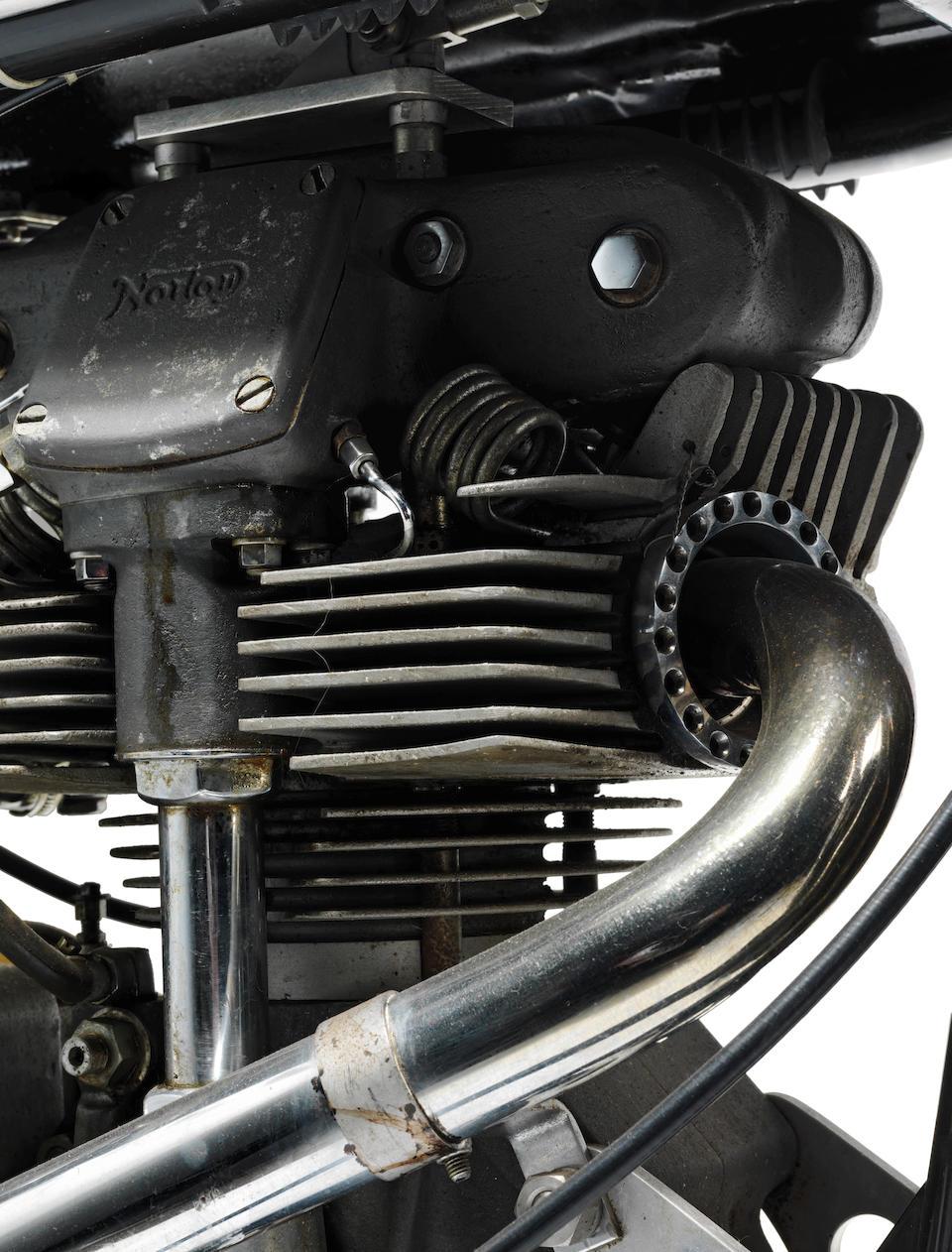Norton 250cc Manx Racing Motorcycle Engine no. 85393