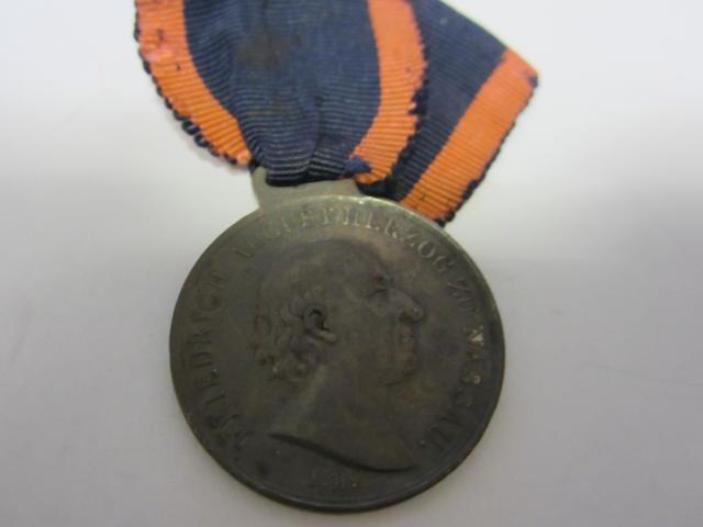 Nassau Medal for Waterloo 1815,
