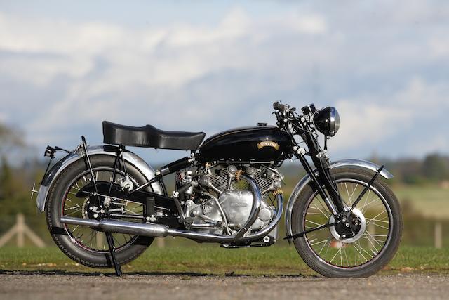 1950 Vincent 998cc Rapide Frame no. RC7283 Engine no. F10AB/1/5383