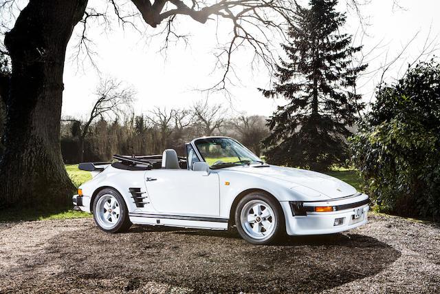 1989 Porsche 911 Turbo SE 'Flat Nose' Cabriolet  Chassis no. WPOZZZ93KS020243