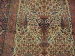 A Sarouk Kashan prayer rug, Central Persia, 196cm x 139cm