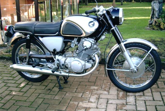 1967 Honda 305cc CB77 Frame no. CB881052839 Engine no. CB77E 105294Z