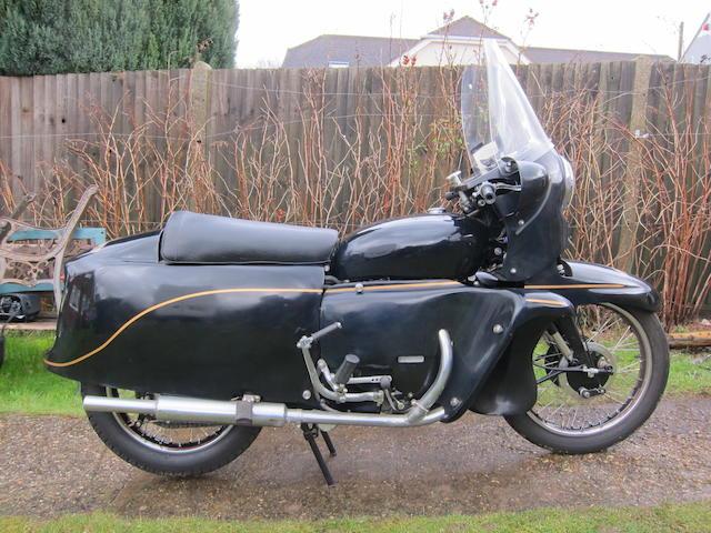 1955 Vincent 998cc Black Prince Frame no. RD128608/F Engine no. F10/AB/2/10914