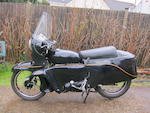 1955 Vincent 998cc Black Prince Frame no. RD128608/F Engine no. F10/AB/2/10914
