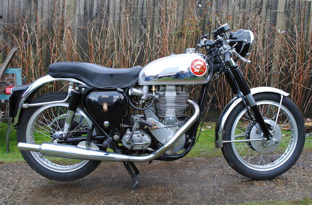 1955 BSA 500cc 'Gold Star' Frame no. CB31 10757 Engine no. DBD34GS 5804