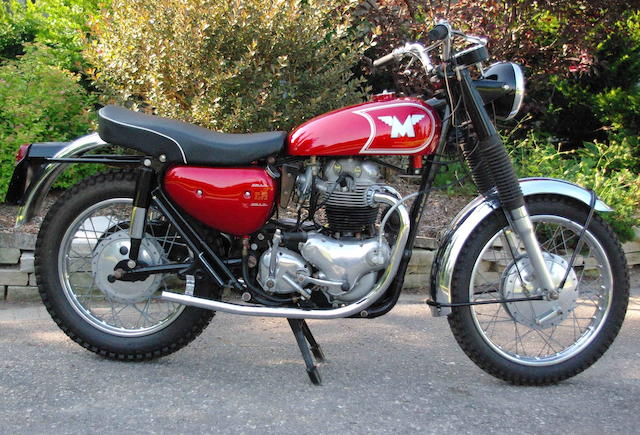 5 miles since restoration, 1965 Matchless 745cc G15CS Frame no. 114247 Engine no. G15CS/114247