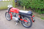1965 Royal Enfield 248cc Continental GT Frame no. 70866 Engine no. GT16228