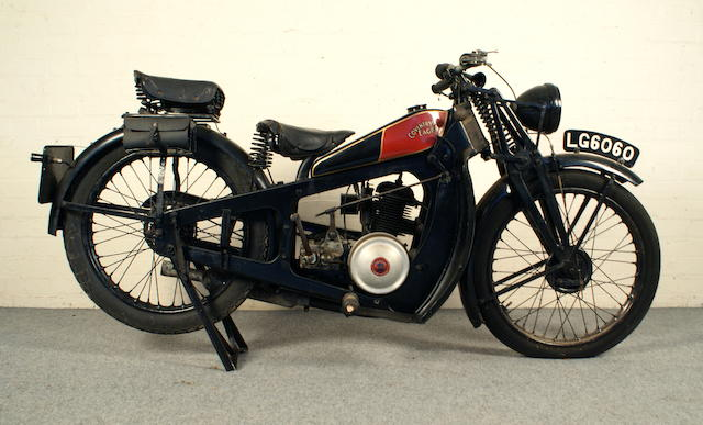c.1930 Coventry Eagle 196cc Frame no. 14202