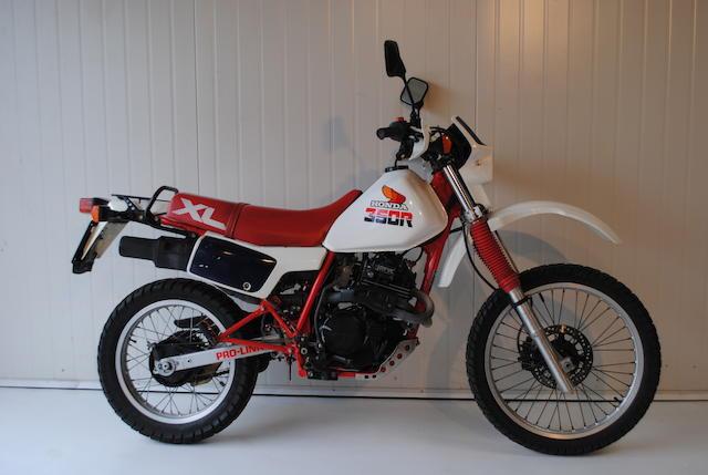 1986 Honda XL350R Frame no. ND035101171 Engine no. ND03E5105056
