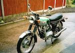 1969 Triumph 490cc T100C Frame no. XD36462 Engine no. KD28152 T100R