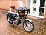 1969 Triumph 490cc T100SS Frame no. H65008 Engine no. H65008