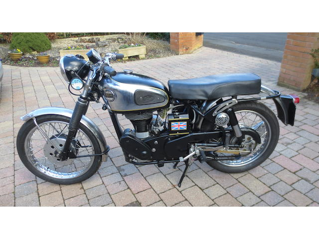 Property of a deceased's estate, 1962 Velocette 499cc Viper Frame no. RS 14052 Engine no. VR 3344