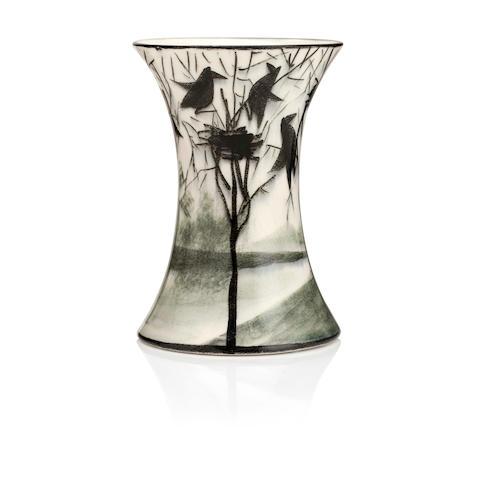 A Wemyss 'Earlshall' beaker vase