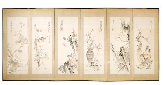 Kato Hankei (1841–1906) Meiji Period, dated 1888