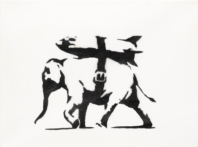 Banksy (b. 1975) Heavy Weaponry 2004