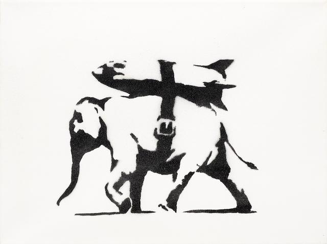 Banksy (b. 1975) Heavy Weaponry 2004