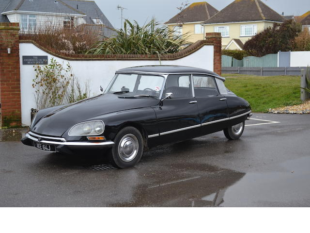 Left-hand drive,1971 Citroën DS20 Saloon  Chassis no. 8000850 Engine no. 0561018857