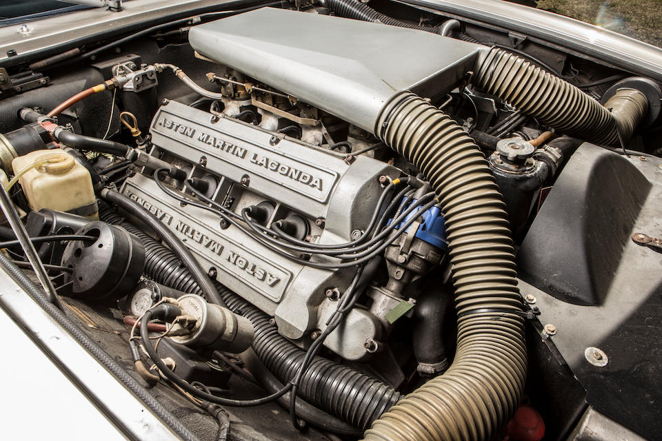 First owned by Sir Peter Cadbury,1979 Aston Martin Series 4 Sports Saloon to Vantage Specification  Chassis no. V8SOR12200 Engine no. V/540/2200/S