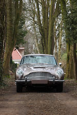 Original left hand drive, manual five speed transmission,1967 Aston Martin DB6 Vantage Sports Saloon Chassis no. DB6/2743/LN Engine no. 400/2730/V