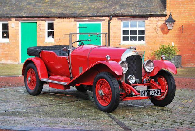 1927 Bentley 3-Litre Speed Model Tourer  Chassis no. LT1591 Engine no. HT1628