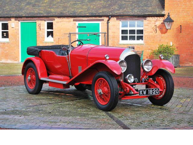 1927 Bentley 3-Litre Speed Model Tourer  Chassis no. LT1591 Engine no. HT1628