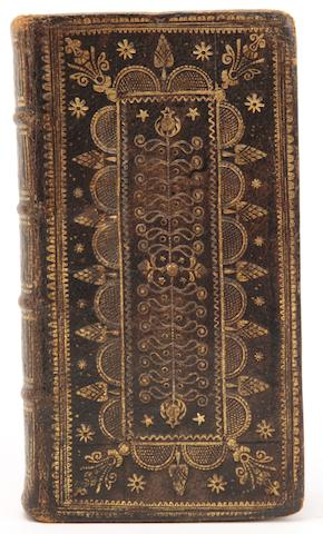 SCOTTISH BINDING, BIBLE, in English The Holy Bible, Containing the Old and New Testaments, Oxford, John Baskett, 1739, sold as a binding