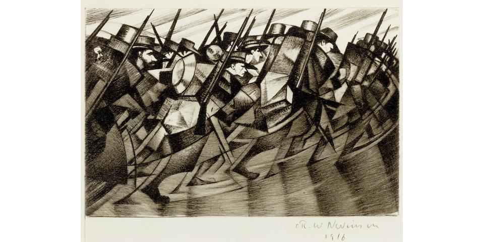 THE POWER OF PRINTS:BRITISH WAR ARTIST LEADS THE CHARGE AT BONHAMS GROSVENOR SCHOOL & BRITISH PRINTMAKING SALE