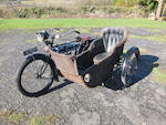 1913 Triumph 3½hp Motorcycle Combination Frame no. 215783 Engine no. 26713
