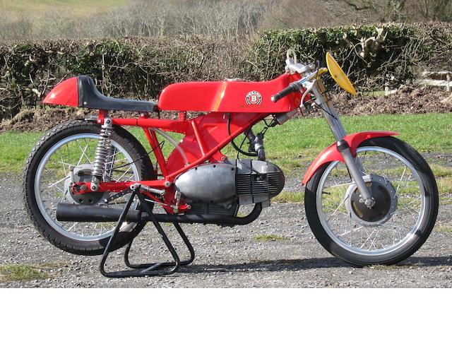 1964 Motobi 125cc Racing Motorcycle Engine no. 6465.G.O.BEN.S.125