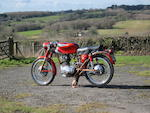1960 Ducati 175cc 'Silverstone' Frame no. 151768DM Engine no. 78833DM175