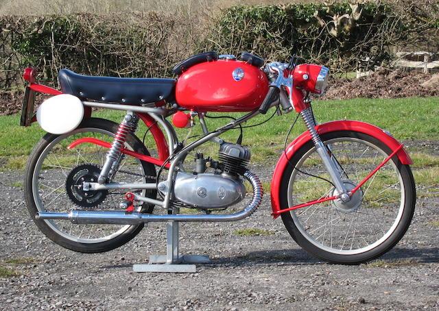 1961 Maserati 50cc Model 50/T2/SS Frame no. SS 4409 Engine no. SS S 7656