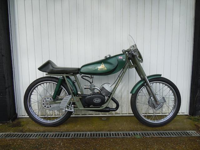1965 Heldun 50cc Harlequin Sports Special Frame no. HD HNS 002