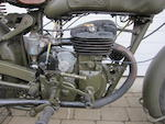 1951 FN 450cc Model M13 Military Motorcycle Frame no. 10698 Engine no. 10933 RA